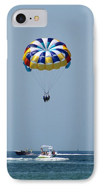Colorful Parasailing IPhone Case