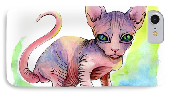 Colorful Sphynx IPhone Case