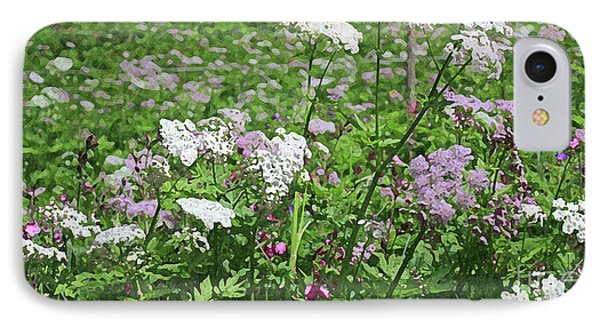 Colorful Spring Flowers In Switzerland Meadow IPhone Case