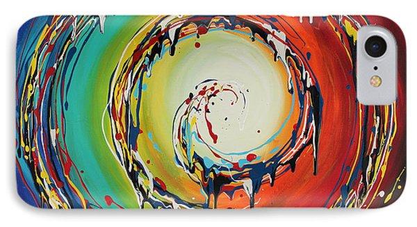 Colorful Swirls IPhone Case