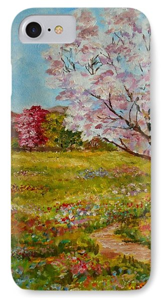 Colors Of Spring IPhone Case