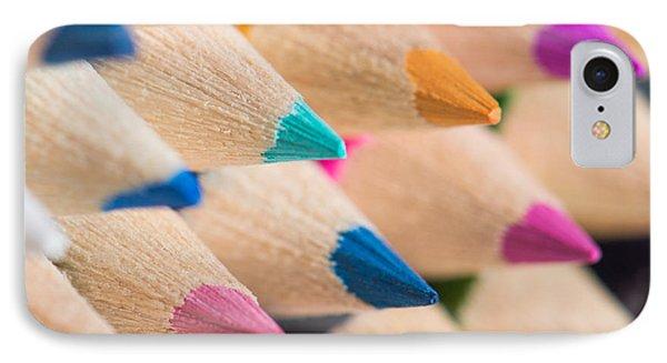 Colour Pencils 3 IPhone Case