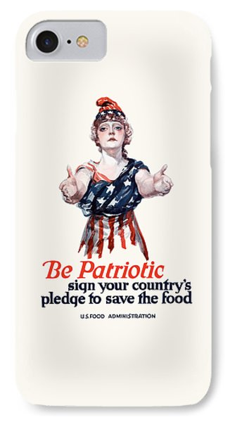 Columbia Invites You To Save Food IPhone Case