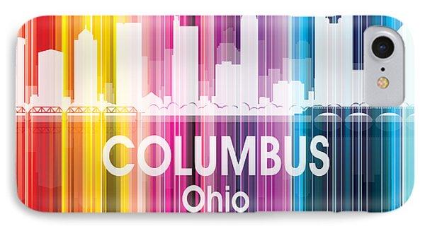 Columbus Oh 2 Squared IPhone Case