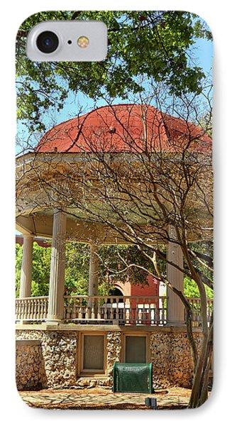 Comal County Gazebo In Main Plaza IPhone Case