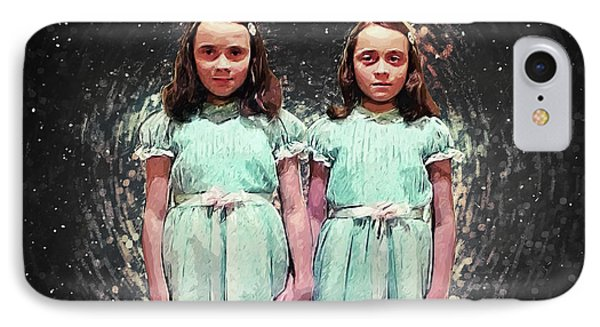 Come Play With Us - The Shining Twins IPhone Case