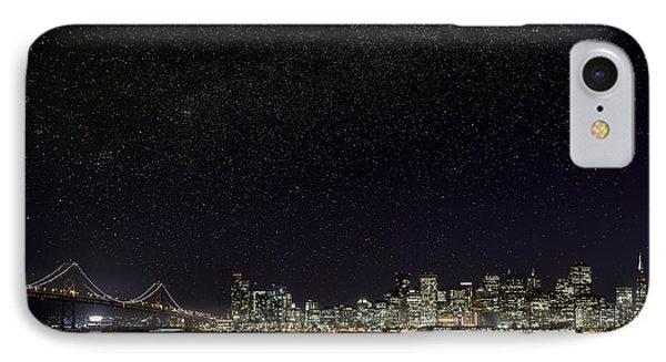 Comet Over San Francisco IPhone Case