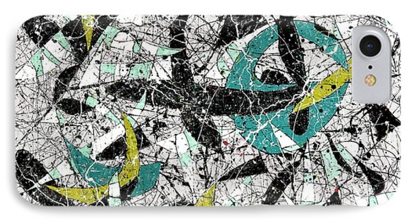 Composition #18 IPhone Case