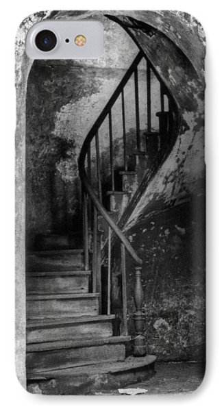 Concrete And Stairwell IPhone Case