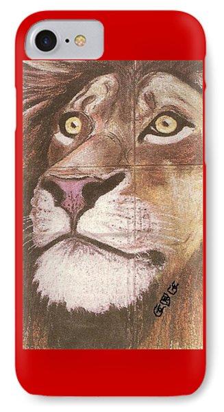 Concrete Lion IPhone Case