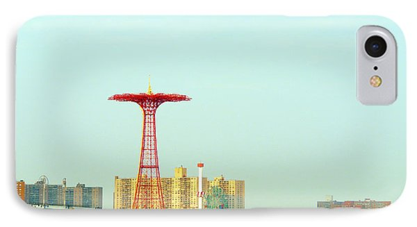 Coney Island Amusement Park IPhone Case