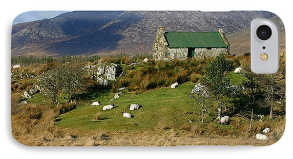 Connemara Cottage Ireland IPhone Case