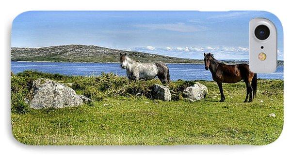 Connemara Ponies IPhone Case
