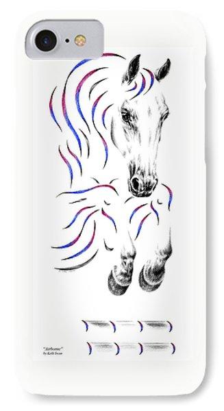 Contemporary Jumper Horse IPhone Case