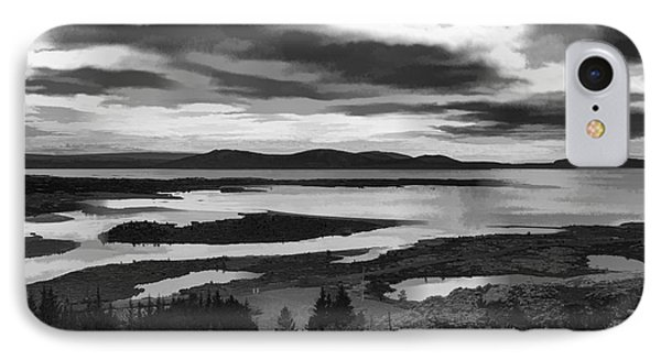 Cool Lakes Iceland IPhone Case