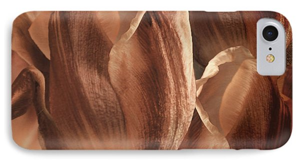 Copper Tulips IPhone Case