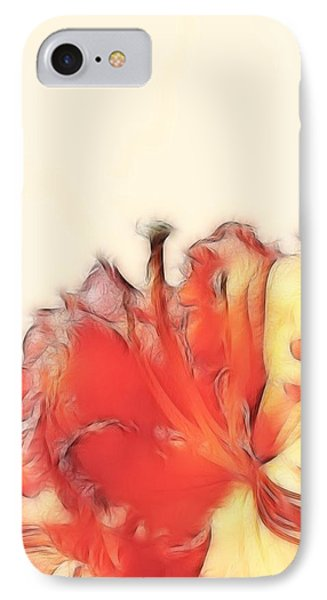 Coral Rhododendron IPhone Case