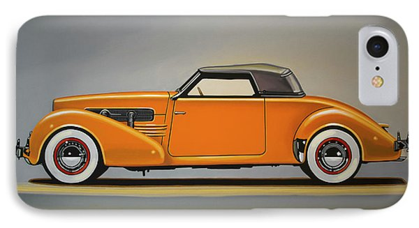 Cord 810 1937 Painting IPhone Case