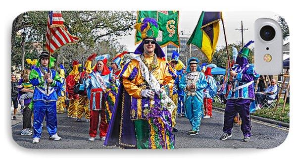 Corner Club 3 -mardi Gras New Orleans IPhone Case