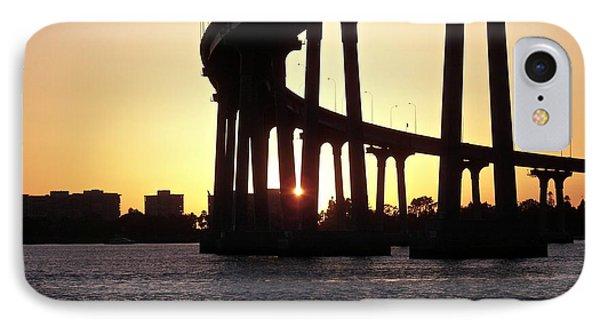 Coronado Bridge Sunset IPhone Case