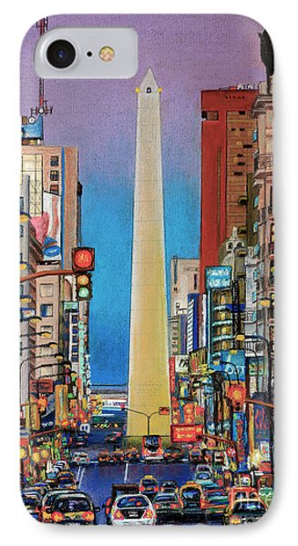 Corrientes Avenue IPhone Case