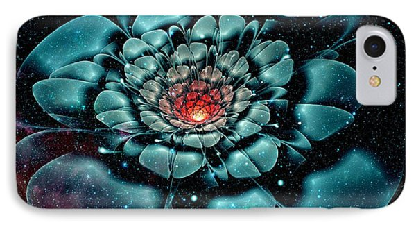 Cosmic Flower IPhone Case