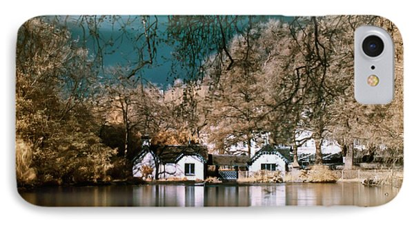 Cottage On The Lake IPhone Case