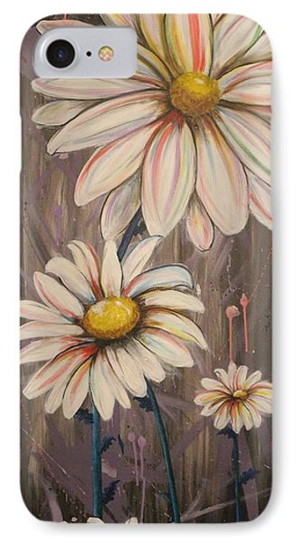 Cotton Candy Daisies IPhone Case