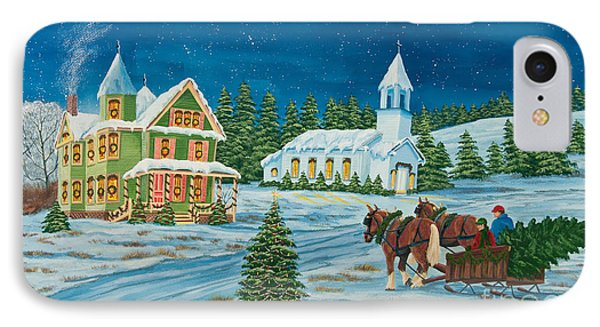 Country Christmas IPhone Case
