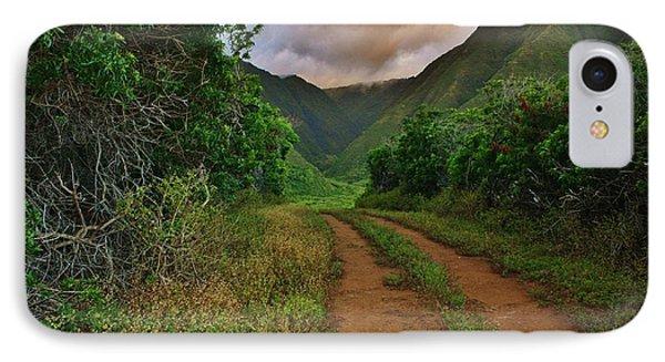 Country Road Kalaupapa, Molokai IPhone Case