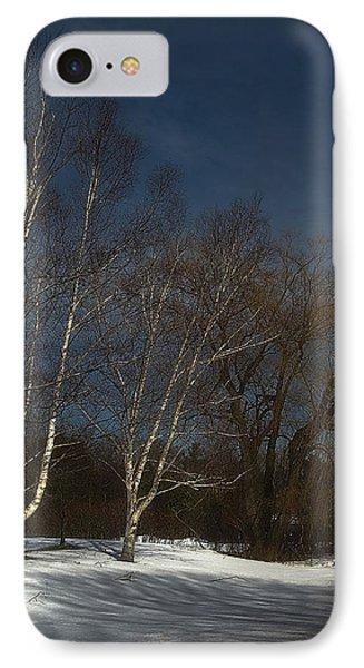 Country Roadside Birch IPhone Case
