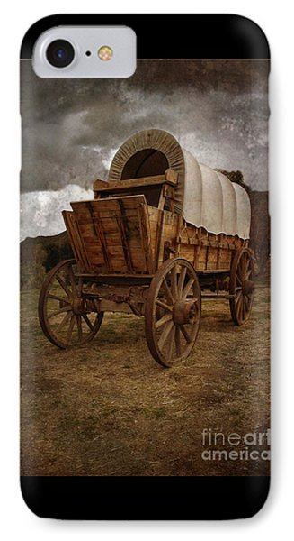 Covered Wagon 1 IPhone Case