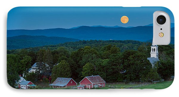 Cow Under The Moon IPhone Case