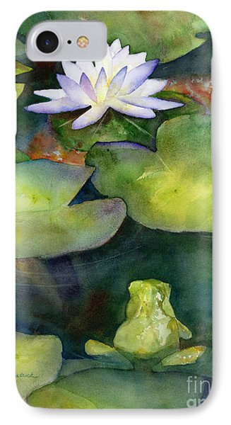 Lily iPhone 8 Case - Coy Koi by Amy Kirkpatrick
