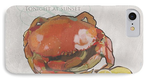 Crab Feed IPhone Case