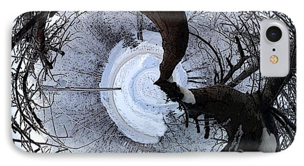 Crabapple Tree IPhone Case