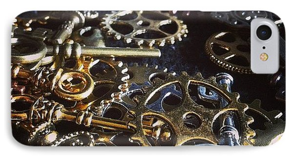 Crafting Steampunk Soon #steampunk IPhone Case