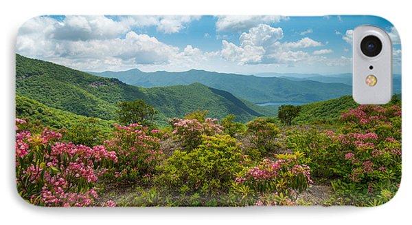 Craggy Gardens Blue Ridge Parkway Stunning Vista IPhone Case