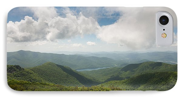Craggy Pinnacle Blue Ridge Parkway Mountain View IPhone Case