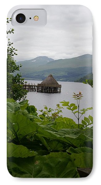 Crannogs On Loch Tay IPhone Case