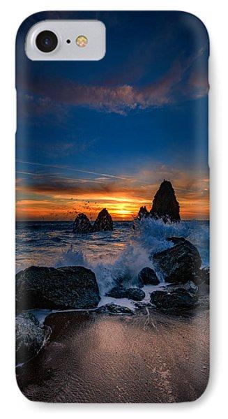 Crashing Waves At Rodeo Beach IPhone Case