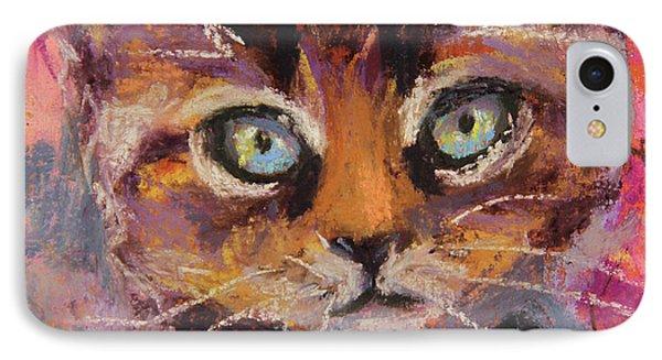 Crazy Cat Tabby  IPhone Case