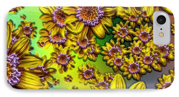 Crazy Daisies IPhone Case