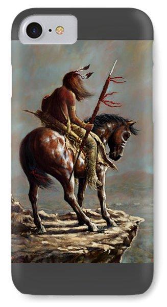 Crazy Horse_digital Study IPhone Case