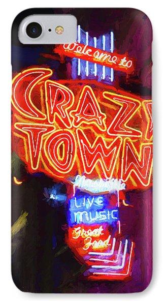 Crazy Town - Impressionistic IPhone Case