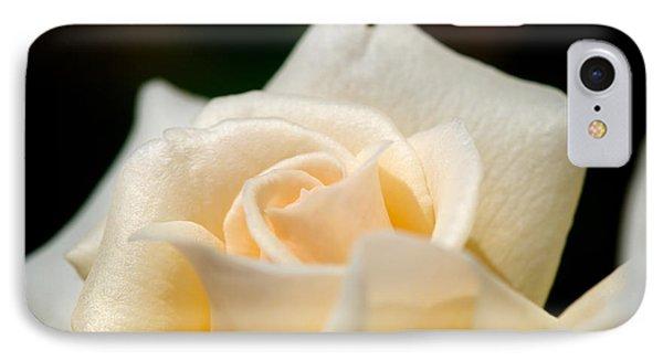 Cream Rose Kisses IPhone Case