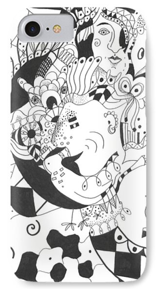 Creatures And Features IPhone Case