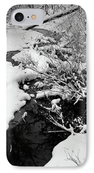Creek Cloaked In Winter IPhone Case