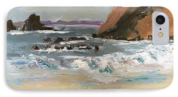 Crescent Beach At Laguna  IPhone Case