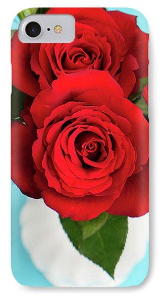 Crimson Roses IPhone Case